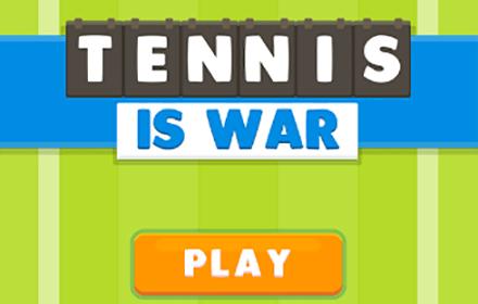 Tennis is War HTML5 featured
