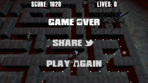 Zombie Pacman HTML5 game
