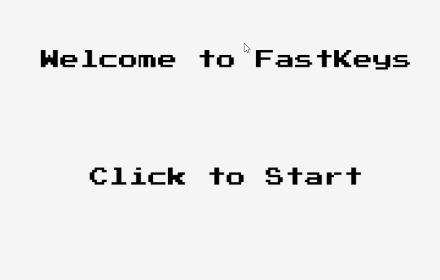 fast keys