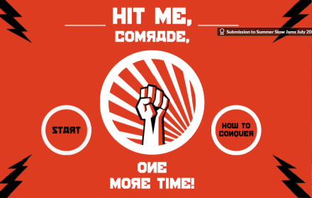Hit Me Comrade, One more time