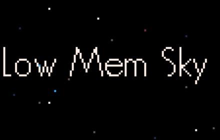 low mem sky