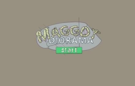 Maggot Diorama