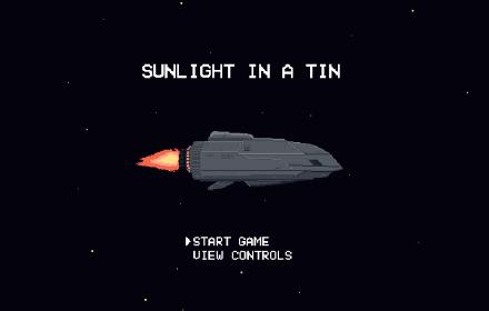 Sunlight in a tin