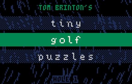 Tiny Golf Puzzles