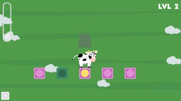 Tricky Cow