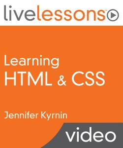 Learning HTML & CSS LiveLessons