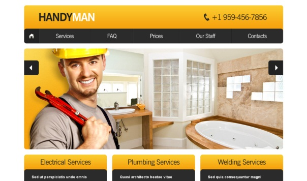 Handyman-free-html5-and-css3-templates