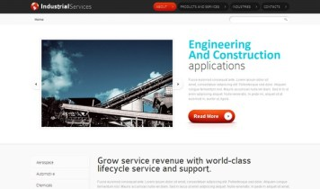 IndustrialServices – Free Html5 Template