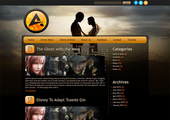 Attractive Html5 Theme