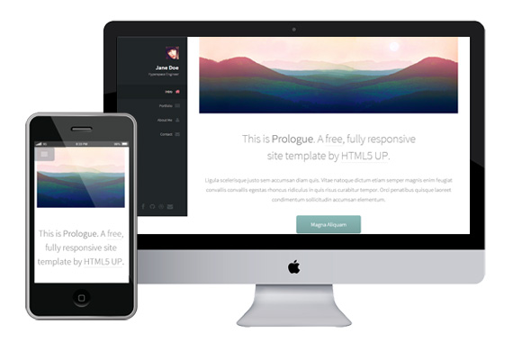 prologue free responsive html5 templates themes