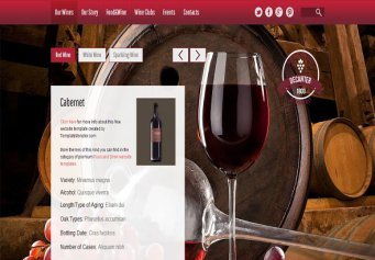 Winery – Free Html5 Template