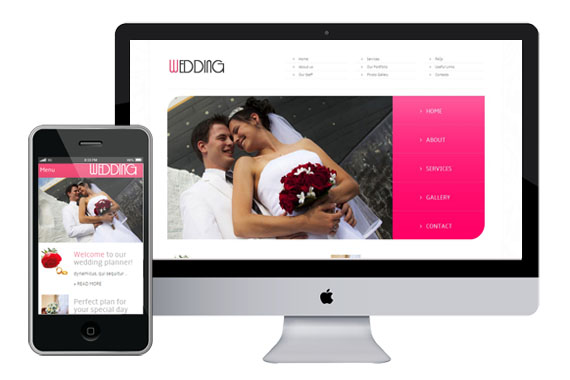 Free Wedding Website Template Home w3layouts