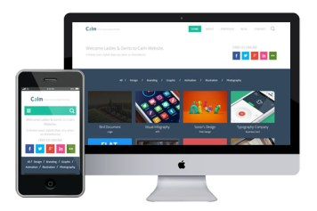 Calm – Responsive Html5 Template