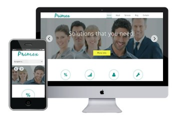 Primex – Responsive Html5 Template