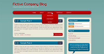 Build a HTML5CSS3 Website Layout Without Images