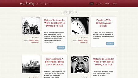 Create An Elegant Website With HTML 5 And CSS3