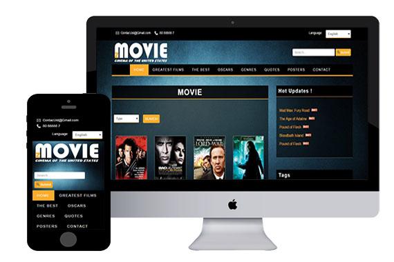 zMovie free responsive html5 template