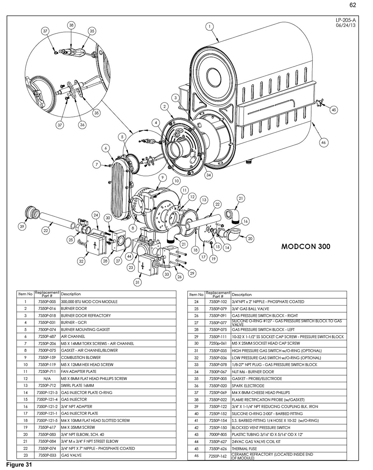 Mod Con Commercial Gas Boiler