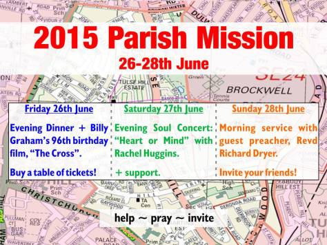 Parish Mission 2015