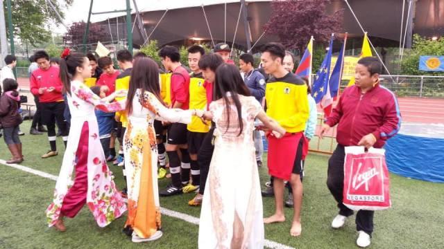 Rencontre Sptortive Vietnam - Tibet