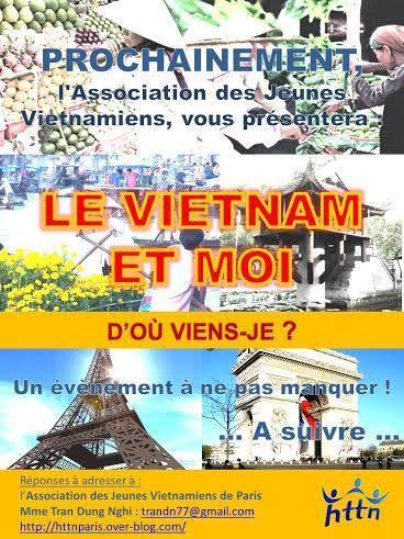 Prochainement Débat : Le Vietnam et Moi