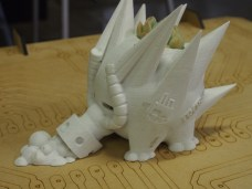 3D printed dragon
