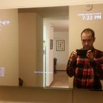 Make your own smart mirror out of a TV and a Raspberry Pi