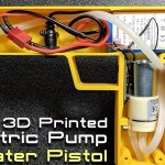 Water without the work: How to make an electric pump water pistol