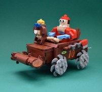 Wacky Races LEGO htxt.africa The Buzz Wagon