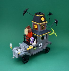 Wacky Races LEGO htxt.africa The Creepy Coupe