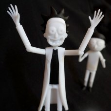 Rick and Morty Action Figure 3D Prints Pic 9
