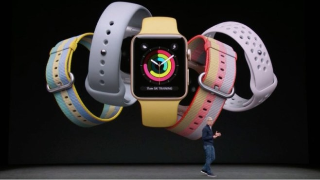 Apple Watch 3 has built-in cellular