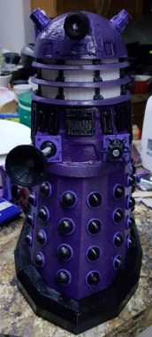 Doctor Who Dalek 3D Print RC Pic 5
