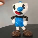 Cuphead's brother Mugman is now a 3D print