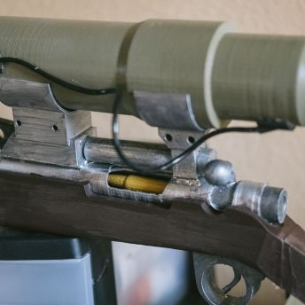 Team Fortress 2 sniper rifle 3D print Pic 4