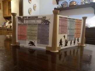 Dungeons & Dragons D&D 3D Printed Screen Pic 4