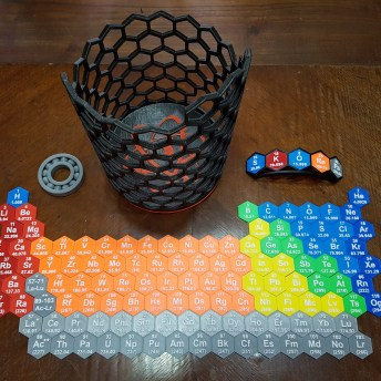 3D Printed Periodic Table 2