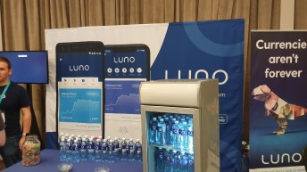 Luno was there looking for developers.
