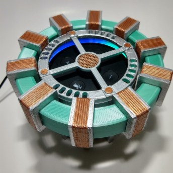 Amazon Echo Arc Reactor 3D Print 3