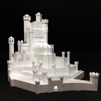 Game of Thrones Red Keep 3D Print 3