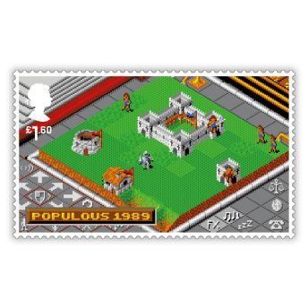 Royal Mail Videogame Stamps 8