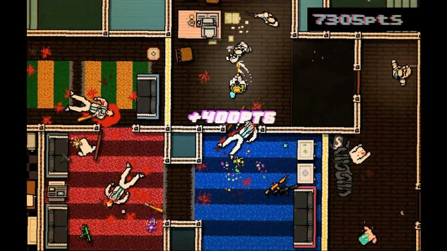 Hotline Miami para o PlayStation 3 e PSVita