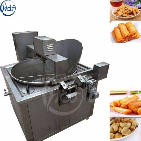 snack food air fryer dough puffed food deep fryer machine