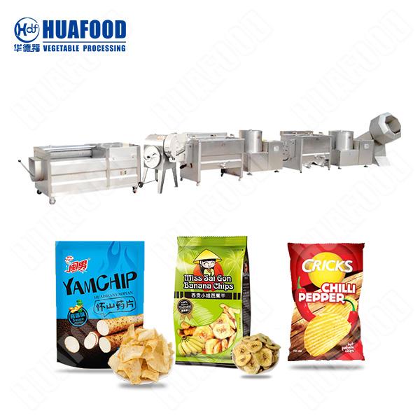 potato chips processing