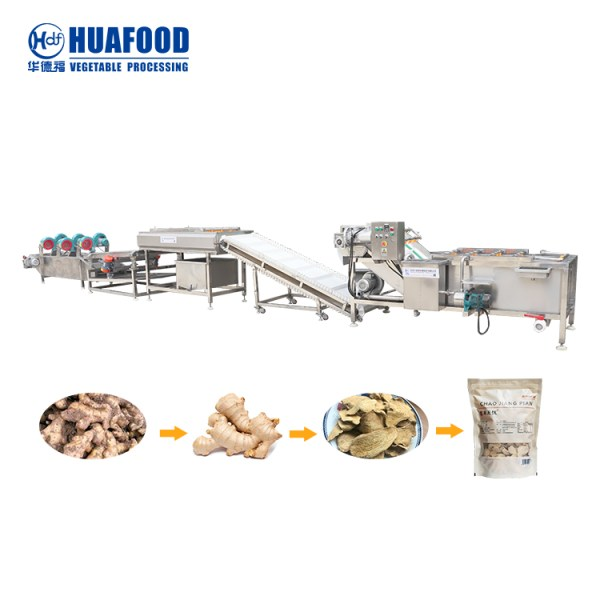 Vegetable processing machinery