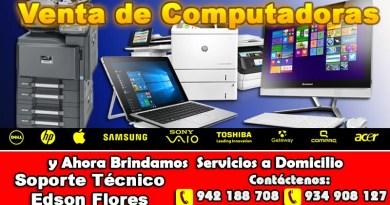 Venta de Computadoras en Ayacucho Peru