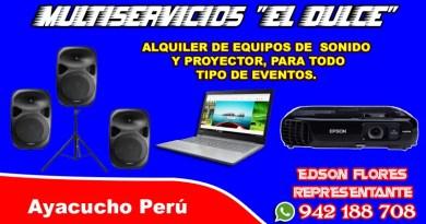Ayacucho equipos de sonido
