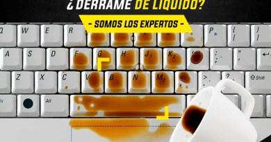 Derrame de líquido Laptops