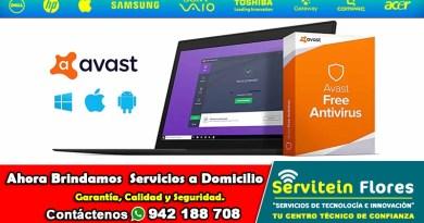 AVAST AntiVirus gratis antivirus Ayacucho