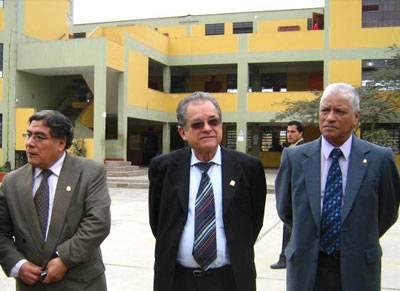Delegación San Marquina en  instalaciones de la Institución Educativa Nuestra Señora del Carmen,